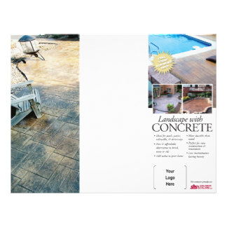 Concrete Landscaping Brochure for Solomon