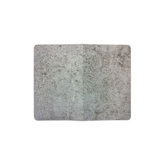 Concrete Stone Wall Texture Pattern Pocket Moleskine Notebook