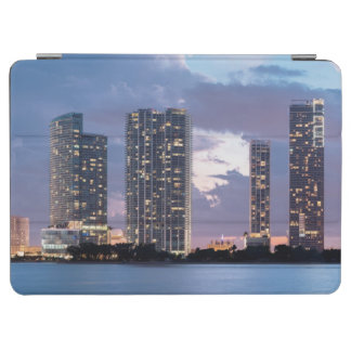 Condominium towers at the waterfront in Miami iPad Air Cover