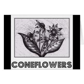 Coneflowers Greeting Card