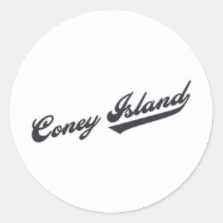 Coney Island Classic Round Sticker