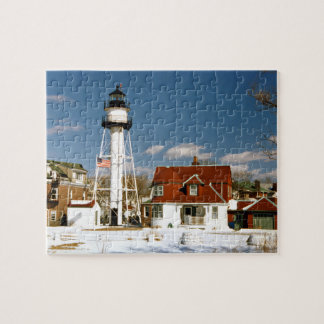 Coney Island Lighthouse, New York Jigsaw Puzzle