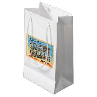 Coney Island New York NY Vintage Travel Postcard - Small Gift Bag
