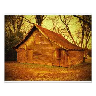 Confederate Barn Photo Art