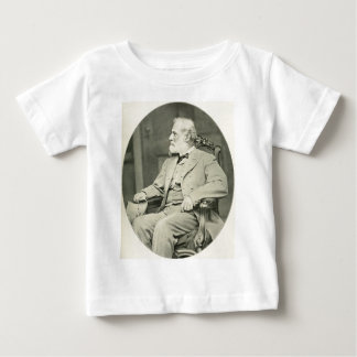 Confederate General Robert E. Lee Sitting in Chair Baby T-Shirt