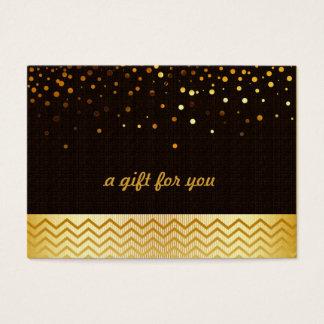 Confetti Chevron Salon and Spa Gift Certificate