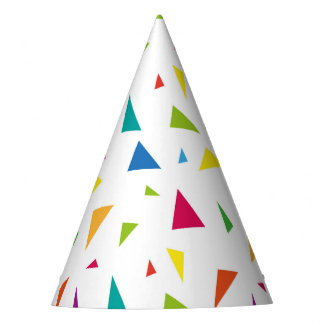 Confetti, modern pattern party hat