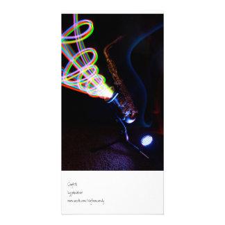 Confetti Customized Photo Card