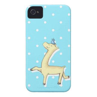 Confidant Yellow Llama iPhone 4 Cover