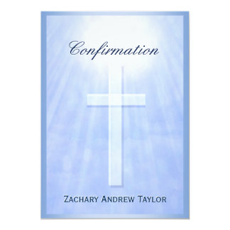 Confirmation Cross Card