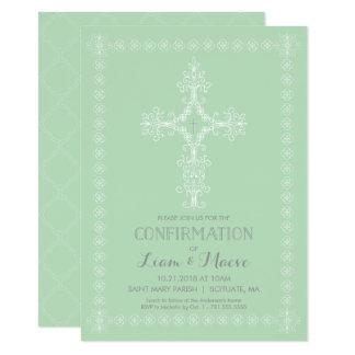Confirmation Invitation, Boy or Girl Invite