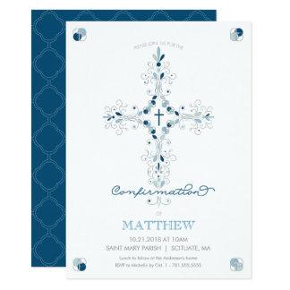 Confirmation Invitation - Catholic Ceremony Invite