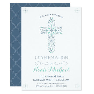 Confirmation Invitation - Catholic Confirm Invite