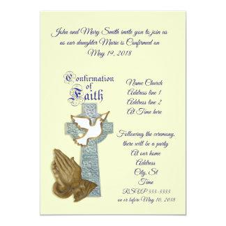 Confirmation Invitation custom colour