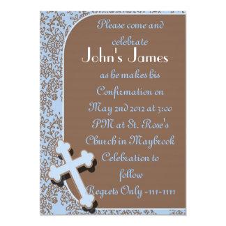 Confirmation Invitations For BOYS