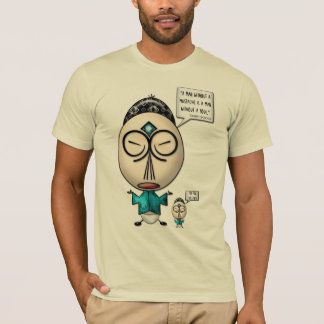 Confuscious Say... About Mustaches (Men's T-Shirt) T-Shirt