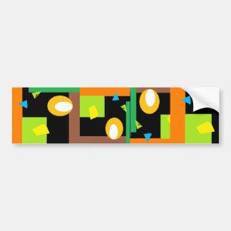 Confused Ray Bumper Sticker