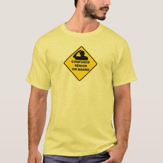 Confused Senior On Board Shirt
