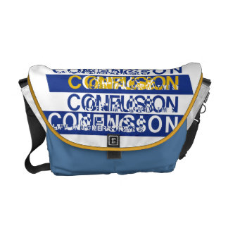 Confusion Courier Bag