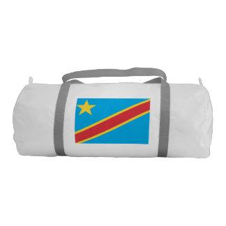 Congo Flag Gym Duffel Bag