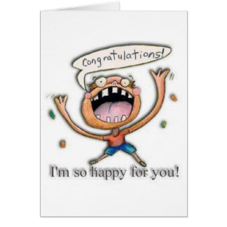Congrats! I'm so happy for you! Card