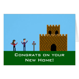 Congrats on Your New Home Gamer Card