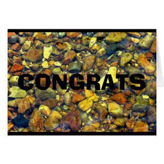 Congrats - You Rock! Card