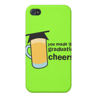 congratuations you graduated! BEER glass iPhone 4 Case