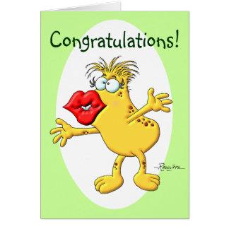 Congratulation Smooch Card
