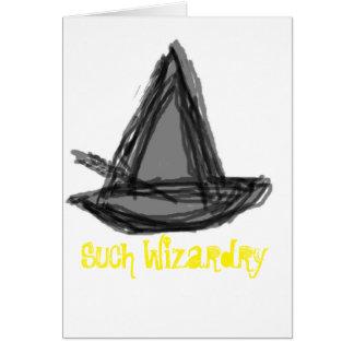 Congratulation Wizardry Card