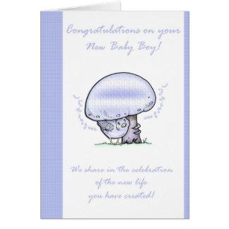 Congratulations Baby Boy Card, New Baby Card