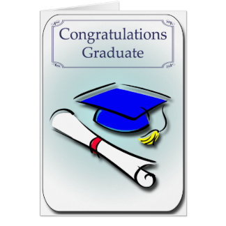 Congratulations Graduate Graduation Card