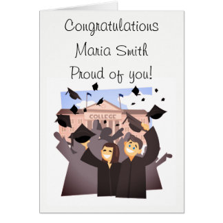 Congratulations (Graduation) Card