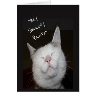 Congratulations Graduation Humor Kitten Animal Card