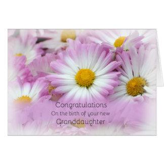 Congratulations, New Granddaughter Card