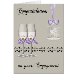 Congratulations On Engagement Greeting Cards