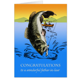 Congratulations on Retirement for Father in Law Greeting Card