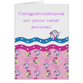Congratulations on your new arrival! card