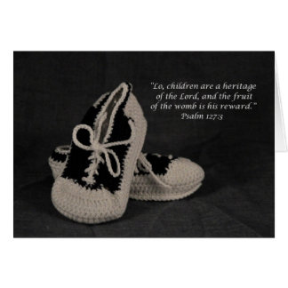 Congratulations on your new Baby Boy scripture Card