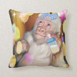 Congratulations! on your new baby girl! PILLOW