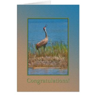 Congratulations, Pregnancy, Proud Mama Crane Card