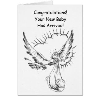 Congratulations! Your New Baby Has Arrived! Card