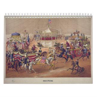 Congress of Nations (1875) Wall Calendar