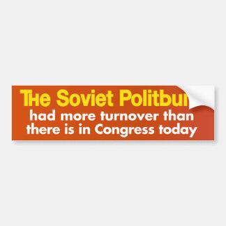 Congressional Turnover Bumper Stickers