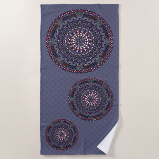 Connected Independence Day Beach Towel