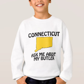 Connecticut - Ask Me About My Butler Sweatshirt