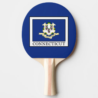 Connecticut Ping Pong Paddle