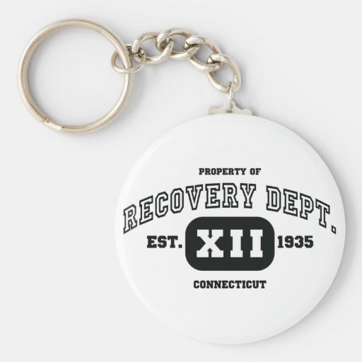 CONNECTICUT Recovery Key Chains