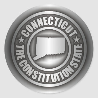 """""""Connecticut Steel"""" Stickers"""
