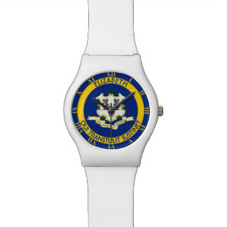 Connecticut The Constitution State Personal Flag Watch